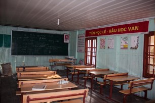 School on the floating village