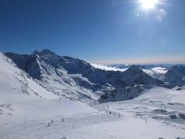 Beautiful view from Stubai Glacier