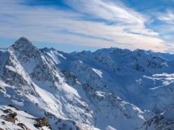 View from Stubai Glacier