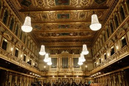 Inside the Wiener Musikverein, home of the Vienna Philharmonic Orchestra