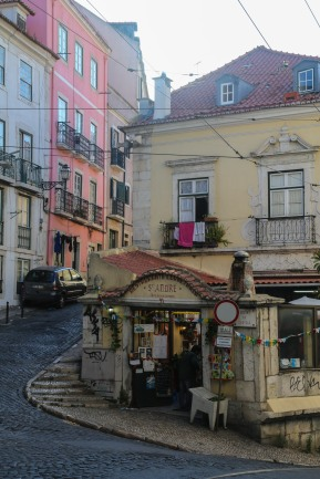 Beautiful Alfama Street