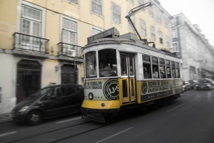 Trams everywhere!
