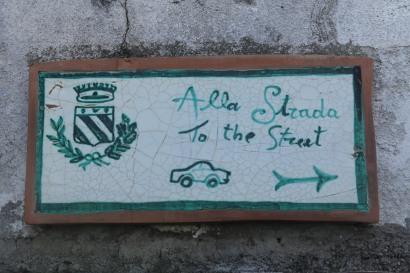 Street signs everywhere