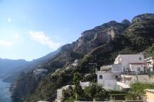 Steep cliffs of Amalfi Coast