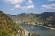 Rhine River - near St Goar