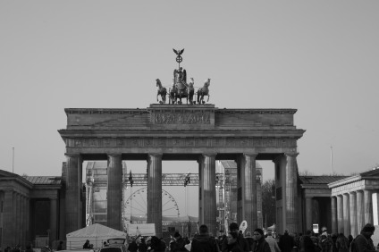 Brandenburg Gate- a symbol of reunification